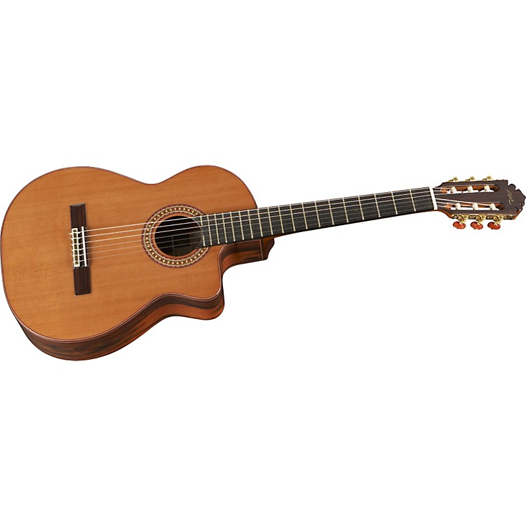 Manuel Rodriguez Model D Exotica Nylon String Acoustic Guitar with Cutaway