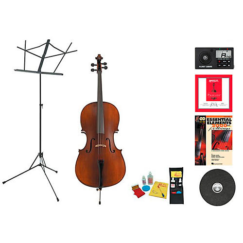 Knilling Model Perfection I Beginner Student 4/4 Cello Bundle