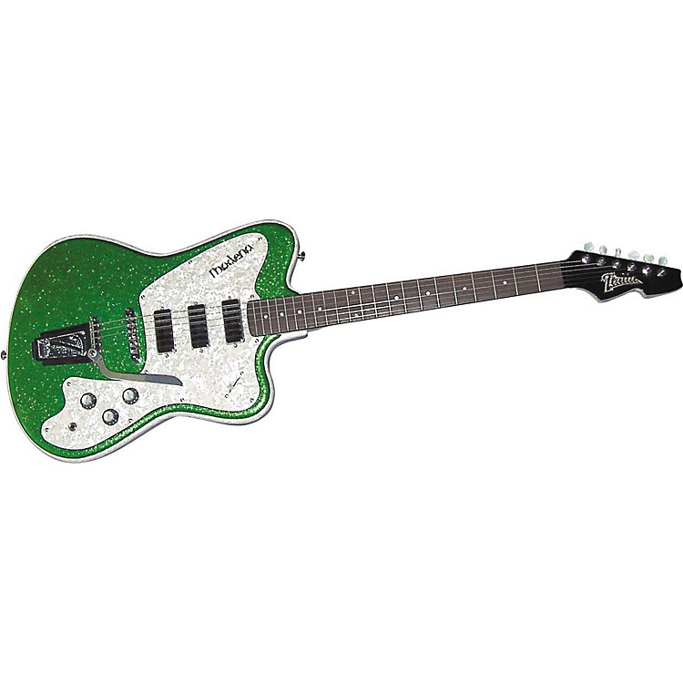 ItaliaModena Classic Electric GuitarGreen