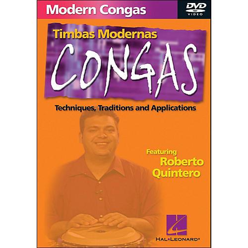 Hal Leonard Modern Conga Techniques DVD
