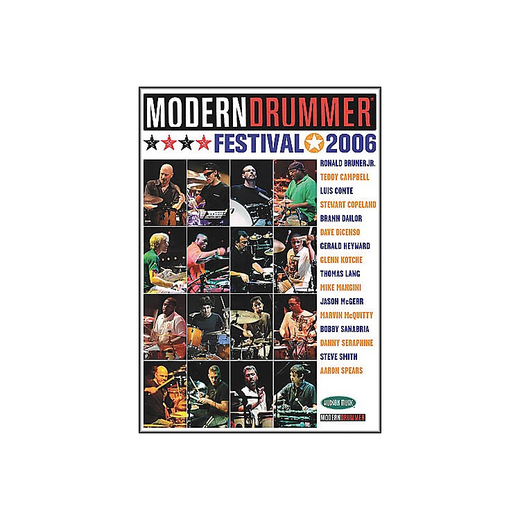Hudson MusicModern Drummer Festival 2006 - Saturday/Sunday (4-DVD Package)