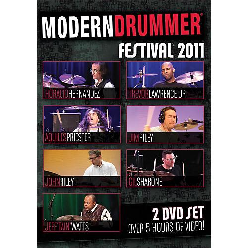 Hudson Music Modern Drummer Festival 2011 2-DVD Set 2 Dvd Set