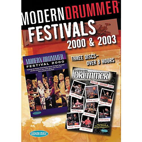 Hudson Music Modern Drummer Festivals 2000 and 2003 3-DVD Set
