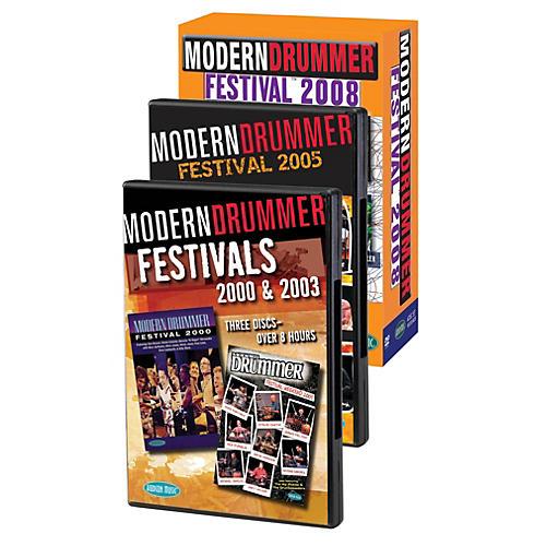 Hudson Music Modern Drummer Super Pack  Modern Drummer Fest 2000/2003/2005/2008 Pack 11 DVDs-thumbnail