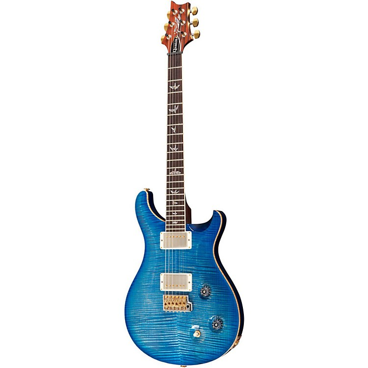 PRS Modern Eagle Quatro with Tremolo  Electric Guitar Faded Blue Burst