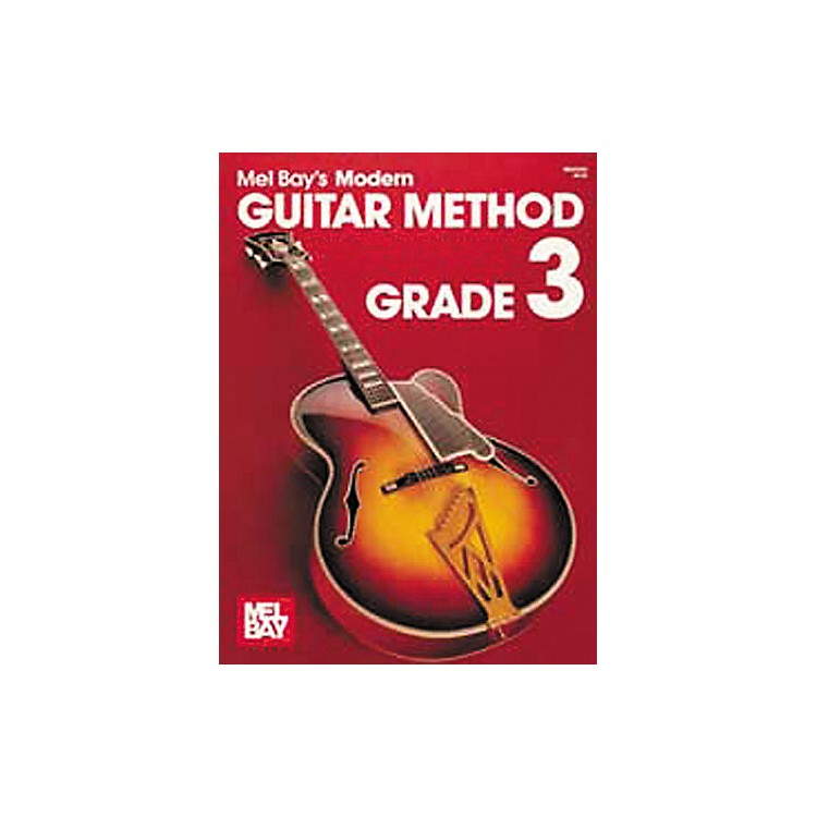Mel Bay Modern Guitar Method Book Grade 3