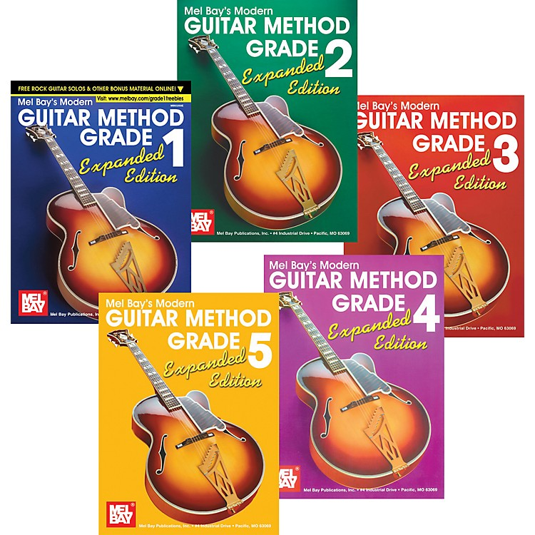 Mel Bay Modern Guitar Method Expanded Edition Grades 1-5