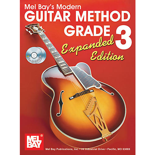 Mel Bay Modern Guitar Method Expanded Edition Vol. 3 Book/2 CD Set