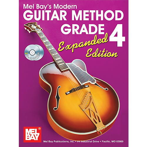 Mel Bay Modern Guitar Method Expanded Edition Vol. 4 Book/2 CD Set