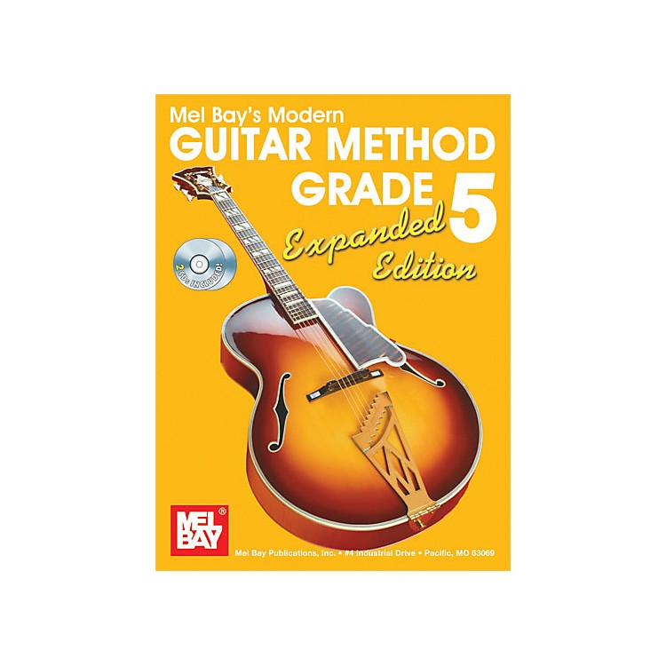 Mel Bay Modern Guitar Method Expanded Edition Vol. 5 Book/2 CD Set