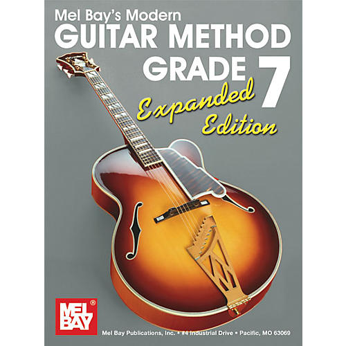 Mel Bay Modern Guitar Method Expanded Edition Vol. 7 Book/2 CD Set