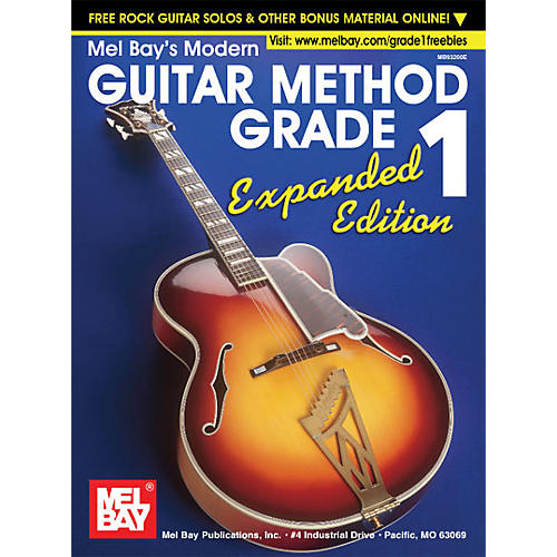 Mel Bay Modern Guitar Method Grade 1 Book - Expanded Edition