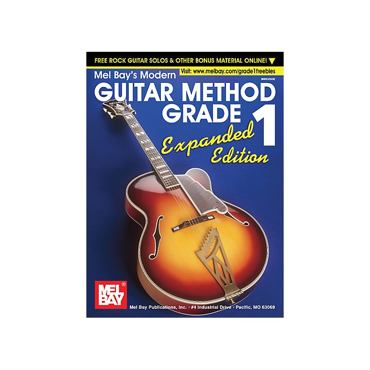 Mel BayModern Guitar Method Grade 1 Book - Expanded Edition