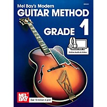Mel Bay Modern Guitar Method Grade 1 Book