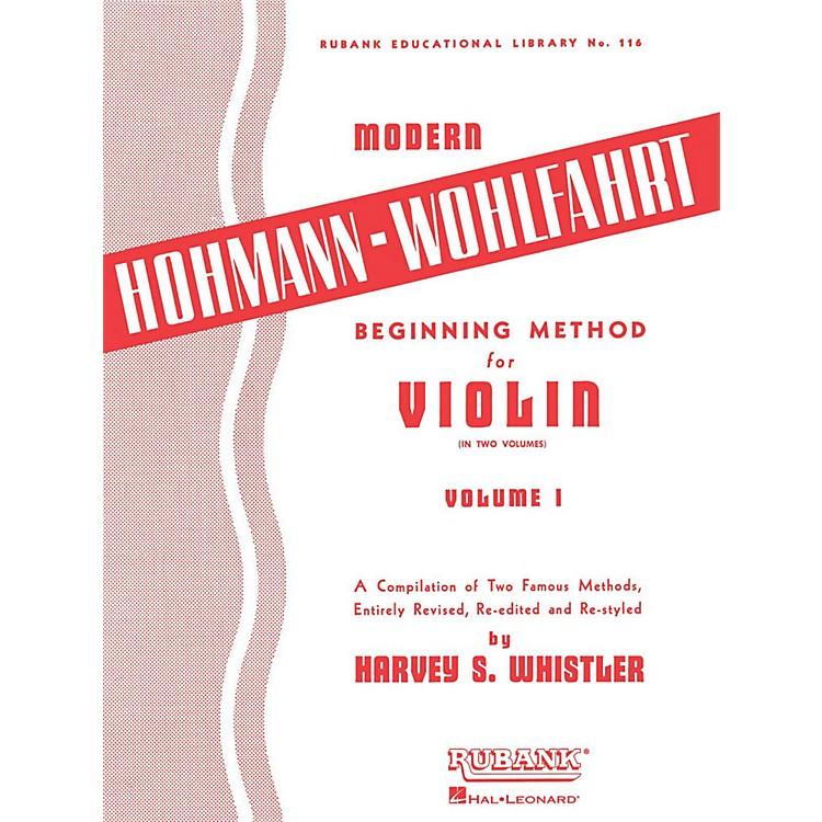 Hal LeonardModern Hohmann-Wohlfahrt Beginning Method for Violin, Volume 1