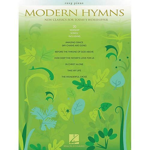 Hal Leonard Modern Hymns - New Classics For Today's Worshipper For Easy Piano