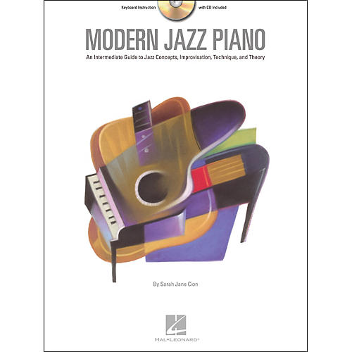 Hal Leonard Modern Jazz Piano Book/CD