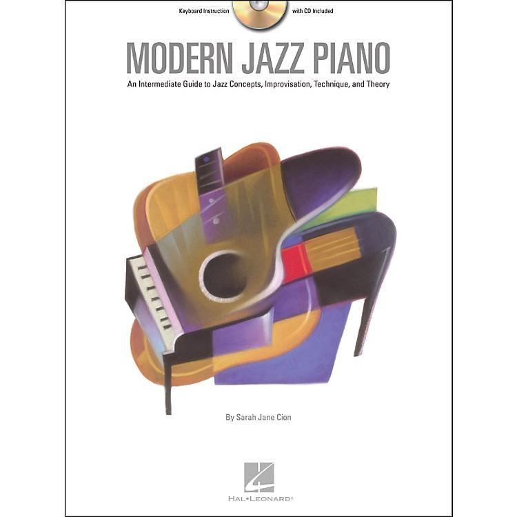 Hal LeonardModern Jazz Piano Book/CD