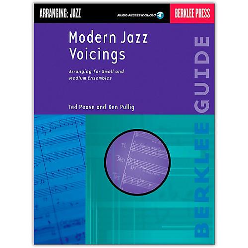 Berklee Press Modern Jazz Voicings Arranging for Ensembles Book/Online Audio