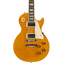 Modern Les Paul Standard Limited Edition Electric Guitar Translucent Amber Aged Pearloid Pickguard