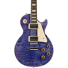 Gibson Custom Modern Les Paul Standard Limited Edition Electric Guitar Transparent Purple Aged Pearloid Pickguard
