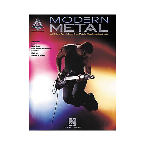 Hal Leonard Modern Metal Guitar Tab Songbook-thumbnail