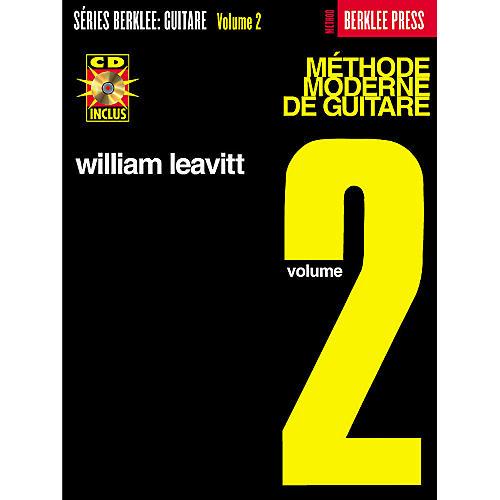 Berklee Press Modern Method for Guitar Berklee Methods Series Softcover with CD Written by William Leavitt-thumbnail