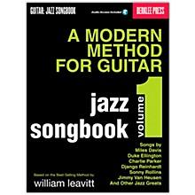 Berklee Press Modern Method for Guitar SongBook/Online Audio: Jazz Book/Online Audio