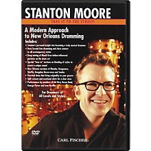 Carl Fischer Modern New Orleans Drumming with Stanton Moore (DVD)