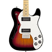 Modern Player Telecaster Thinline Deluxe Electric Guitar 3-Color Sunburst Maple Fretboard