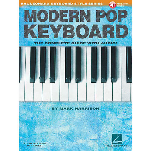 Hal Leonard Modern Pop Keyboard - The Complete Guide with Audio Keyboard Instruction Book/Audio Online by Mark Harrison-thumbnail