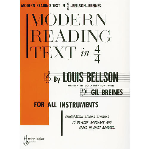 Alfred Modern Reading Text in 4/4