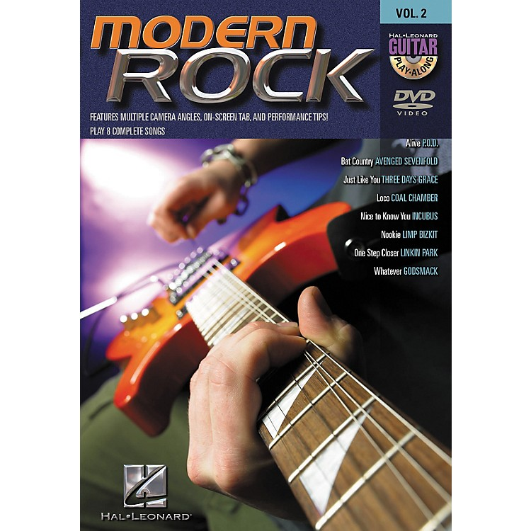Hal Leonard Modern Rock Guitar Play-Along Series Volume 2 DVD