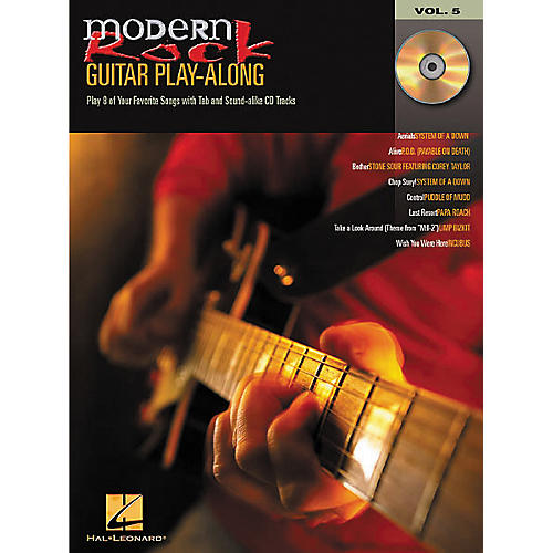 Hal Leonard Modern Rock Guitar Play-Along Volume 5 (Book/CD)