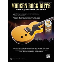 Alfred Modern Rock Riffs Guitar Book & CD