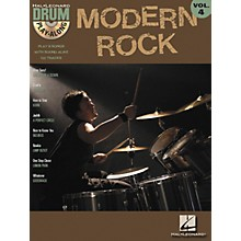 Hal Leonard Modern Rock Volume 4 Drum Play-Along Book with CD