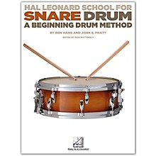 Hal Leonard Modern School For Snare Drum Book