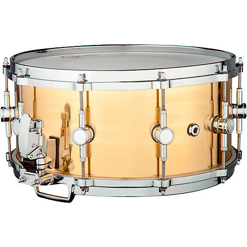 Ddrum Modern Tone Brass Snare Drum-thumbnail