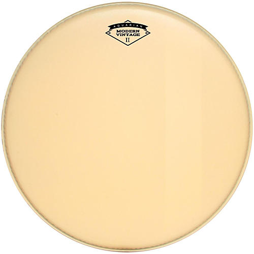 Aquarian Modern Vintage II Bass Drumhead with Felt Strip-thumbnail