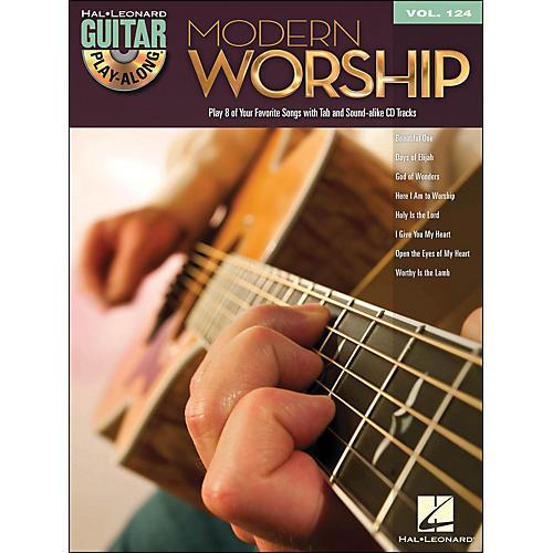 Hal Leonard Modern Worship - Guitar Play-Along Volume 124 Book/CD