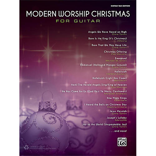 Alfred Modern Worship Christmas for Guitar Songbook Guitar TAB Edition-thumbnail