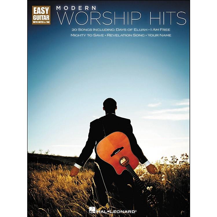 Hal LeonardModern Worship Hits - Easy Guitar Tab