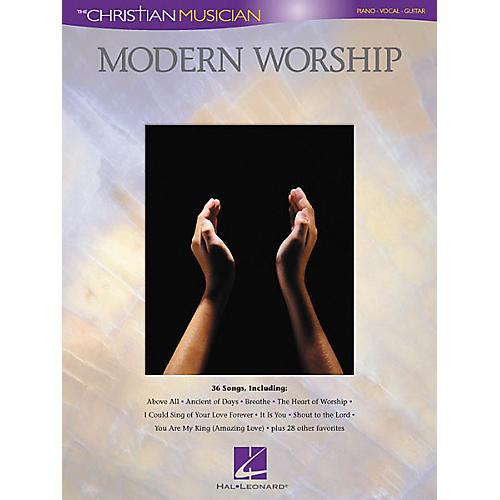 Hal Leonard Modern Worship Piano, Vocal, Guitar Songbook-thumbnail