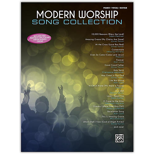 Alfred Modern Worship Song Collection Piano/Vocal/Guitar Songbook-thumbnail
