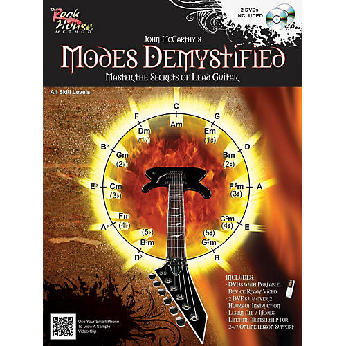Rock House Modes Demystified Book/2 DVD Pack