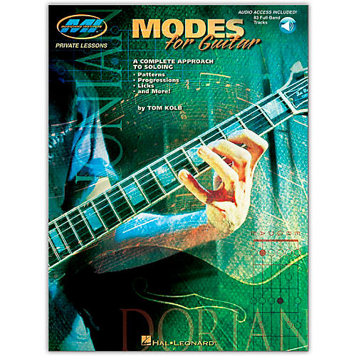 Hal Leonard Modes for Guitar (Book/Online Audio)-thumbnail