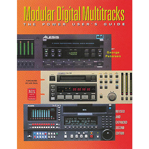 ArtistPro Modular Digital Multitracks - The Power User's Guide Book