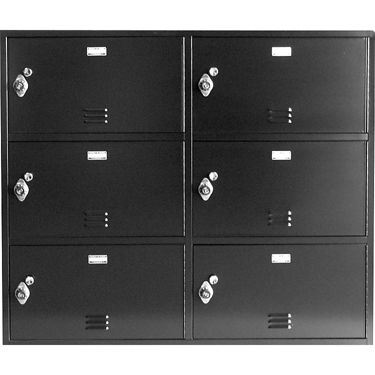 Norren Modular Instrument Cabinets in Black N-042 W/ 20 Compartments