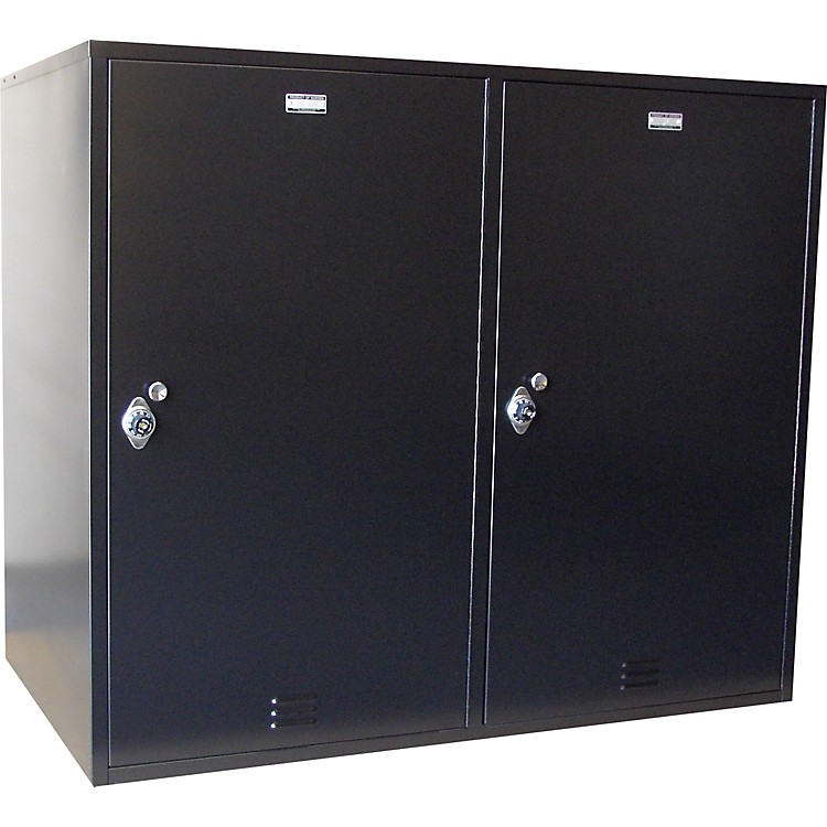 NorrenModular Instrument Cabinets in BlackN-042 W/ 20 Compartments