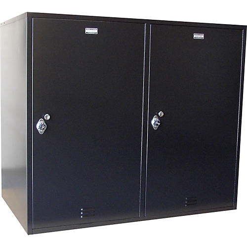Norren Modular Instrument Cabinets in Black N-035 with 2 Compartments